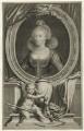 Anne of Denmark, by Jacobus Houbraken, after  Cornelius Johnson (Cornelius Janssen van Ceulen) - NPG D25719
