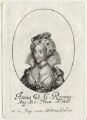 Anne of Denmark, possibly by William Faithorne, printed and published by  Robert Peake the Elder - NPG D25726