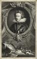 Henry, Prince of Wales, by Jacobus Houbraken, after  Isaac Oliver - NPG D25732