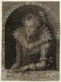 Princess Elizabeth, Queen of Bohemia and Electress Palatine, by Crispijn de Passe the Elder - NPG D25748