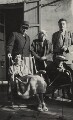 Janie Bussy; Clive Bell; Pippa Strachey; Dorothy Bussy (née Strachey); George Duthuit, by Unknown photographer - NPG x38580