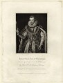 Robert Cecil, 1st Earl of Salisbury, by Charles Picart, published by  Lackington, Hughes, Harding, Mavor & Jones, published by  Longman, Hurst, Rees, Orme & Brown, after  William Hilton, after  Federico Zuccaro - NPG D25757