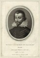 Unknown man engraved as Robert Cecil, 1st Earl of Salisbury, by Richard Earlom, published by  Samuel Woodburn - NPG D25761