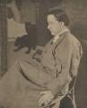 Edmund Dulac, by Alvin Langdon Coburn, published by  Duckworth & Co - NPG Ax7861