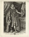 Ludovic Stuart, 1st Duke of Richmond and 2nd Duke of Lennox, by R. Clamp, published by  E. & S. Harding, after  Paul van Somer - NPG D25781