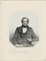 James Scott Bowerbank, by Thomas Herbert Maguire, printed by  M & N Hanhart - NPG D32021
