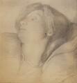 Elizabeth Eleanor Rossetti (née Siddal), by Lewis Carroll, after  Dante Gabriel Rossetti - NPG P1273(2b)