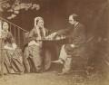 Maria Francesca Rossetti; Frances Mary Lavinia Rossetti (née Polidori); Dante Gabriel Rossetti, by Lewis Carroll (Charles Lutwidge Dodgson) - NPG P1273(21b)