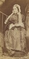 Frances Mary Lavinia Rossetti (née Polidori), by Lewis Carroll (Charles Lutwidge Dodgson) - NPG P1273(26e)