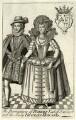 Robert Carr, Earl of Somerset; Frances, Countess of Somerset, by Michael Vandergucht - NPG D25785