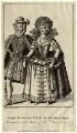 Robert Carr, Earl of Somerset and Frances, Countess of Somerset, by George Cruikshank, published by  George Smeeton - NPG D25786