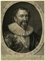 William Herbert, 3rd Earl of Pembroke, by Robert van Voerst, after  Daniel Mytens - NPG D25796
