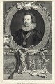 George Villiers, 1st Duke of Buckingham, by Jacobus Houbraken, after  Cornelius Johnson - NPG D25823