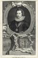 George Villiers, 1st Duke of Buckingham, by Jacobus Houbraken, after  Cornelius Johnson - NPG D25823