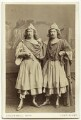 George James Vining as Antipholus of Syracuse; John Nelson as Antipholus of Ephesus in 'The Comedy of Errors', by Southwell Brothers - NPG x5104
