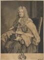 Thomas Parker, 1st Earl of Macclesfield, after George Vertue, after  Sir Godfrey Kneller, Bt - NPG D32034