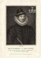 Fulke Greville, 1st Baron Brooke of Beauchamps Court, by Burnet Reading - NPG D25850