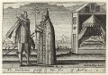 John of Austria and Pope Pius V in George Carleton's ''Thankful Remembrance of God's Mercie'', by Friedrich van Hulsen - NPG D25930