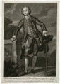 Gustavus Hamilton, 2nd Viscount Boyne, by Michael Ford, after  William Hogarth - NPG D32055