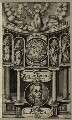 Richard Middleton in the title page to his book 'The Key of David', possibly by Renold or Reginold Elstrack (Elstracke), published by  Nicholas Okes - NPG D25961