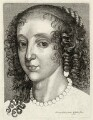 Henrietta Maria, by Wenceslaus Hollar, after  Sir Anthony van Dyck - NPG D32072