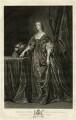 Henrietta Maria, by Pieter Stevens van Gunst, published by  John Boydell, published by  Josiah Boydell, after  Sir Anthony van Dyck - NPG D32074