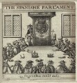 'The Spanishe Parliament', after Unknown artist - NPG D26035
