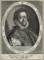 Sir Anthony Sherley (Shirley), possibly by Domenicus Custos (De Coster) - NPG D26056