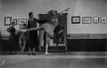 Ninette de Valois instructing pupils at Sadler's Wells Theatre, by James Jarché, for  Daily Herald - NPG x131115