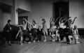 Ninette de Valois instructing pupils at Sadler's Wells Theatre, by James Jarché, for  Daily Herald - NPG x131116