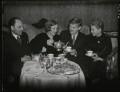 Marcel Ciampi, Hephzibah Menuhin, Yehudi Menuhin and Yaltah Menuhin, by Edward George W. Malindine, for  Daily Herald - NPG x131122