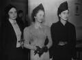 Margot Fonteyn, Mary Honer and June Brae (June Telfer Bear), by Edward George W. Malindine, for  Daily Herald - NPG x131125