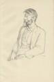 Robert Bridges, by Sir William Rothenstein - NPG D32095