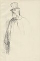 Alphonse Legros, by Sir William Rothenstein - NPG D32096