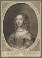 Mary, Princess of Orange, by Crispyn van den Queborne, after  Sir Anthony van Dyck - NPG D32049