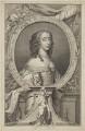 Mary, Princess of Orange, by Jacobus Houbraken, after  Gerrit van Honthorst - NPG D32109