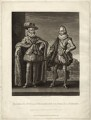 Christian IV, King of Denmark and Norway; Frederick III, King of Denmark, by Robert Dunkarton, published by  Samuel Woodburn, after  Willem de Passe - NPG D26182