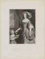 Henrietta Anne, Duchess of Orleans; Mary Charlotte Gage (née Bond), Lady Gage, by Joseph Brown, after  Unknown artist - NPG D32110