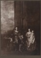 King Charles I; Henrietta Maria; King Charles II; Mary, Princess of Orange, after Sir Anthony van Dyck - NPG D32112