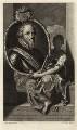 Maurice of Nassau, Prince of Orange, by Gerard Valck, after  Adriaen van der Werff - NPG D26201