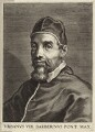 Pope Urban VIII (Maffeo Barbarini), by Cornelis Galle the Younger - NPG D26216