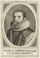 Thomas van Erpe (known as Thomas Erpenius), after Unknown artist - NPG D26281