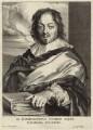Constantine Huygens, by Paulus Pontius (Paulus Du Pont), after  Sir Anthony van Dyck - NPG D26289