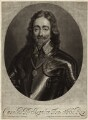 King Charles I, by Isaac Beckett, after  Sir Anthony van Dyck - NPG D26300
