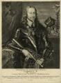 King Charles I, by Pieter de Jode I, after  Sir Anthony van Dyck - NPG D26302