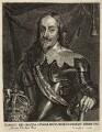 King Charles I, by Johannes Meyssens, after  Sir Anthony van Dyck - NPG D26304