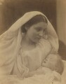 'La Madonna Riposata, Resting in Hope' (Mary Ann Hillier; Percy Seymour Keown), by Julia Margaret Cameron - NPG x18025