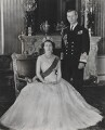 Queen Elizabeth II; Prince Philip, Duke of Edinburgh, by Baron (Sterling Henry Nahum), for  Camera Press: London: UK - NPG x131149