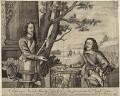 King Charles I and Sir Edward Walker, after Unknown artist - NPG D26326