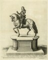 The Statue of King Charles I at Charing Cross, by Wenceslaus Hollar, after  Hubert Le Sueur - NPG D26343